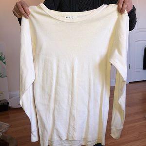 Michael stars long sleeve off white long sleeve